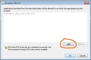 Nefunguje mi vyvěšování obrázků a souborů - je problém s programem Java (JVM)